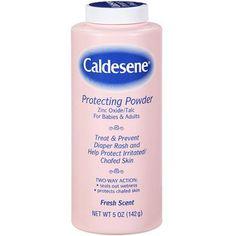 Caldesene Protecting Powder Fresh Scent Talc, 5 oz, Multicolor