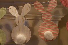 Goat & Lulu: Easter Mantel