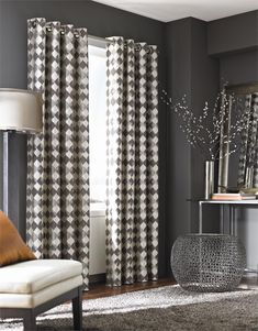 Palisade Curtain Drapery Panels: Moroccan Tile Pattern In Standard Size Curtain  Panels In 84,