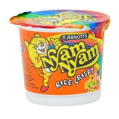 Nyam Nyam Rice Crispy Coffee Cans, Salsa, Rice, Jar, Snacks, Canning, Drinks, Business Ideas, Childhood