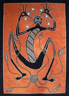 Aboriginal art: Mimi spirit