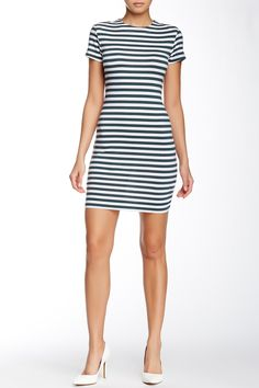 French Connection | Sienna Striped Knit Dress | Nordstrom Rack