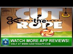 Cut The Rope iPhone App - Best iPhone App - App Reviews #iphone #apps #appreviews #IUTA