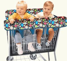 Shopping Cart Cover for Twins- where is this cart??