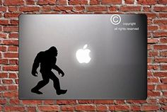 SASQUATCH - BIG FOOT - - STICKER - DECAL - SKIN - FOR LAPTOP MACBOOK CAR WINDOW WALL ART Dأ‰COR TRUCK MOTORCYCLE HELMET NOTE BOOK