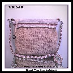 Hp Like New The Sak 4 Tone Neut Lg Crochet Xbody
