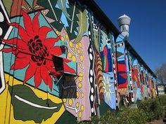Mural in Blackheath.  (photo by sturkster, via Flickr)