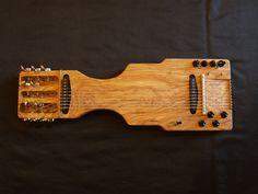 Xabier Iriondo DIY table-guitar Mahai Metak