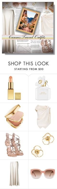"""""""Cannes Travel Outfits!!!"""" by sarahguo ❤ liked on Polyvore featuring Marc Jacobs, Dolce&Gabbana, Roland Mouret, Giuseppe Zanotti, Tory Burch, Calvin Klein, Alice + Olivia, M2Malletier, WALL and france"""