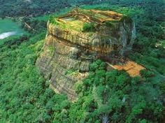 To know more about Sri Lanka Sigiriya, visit Sumally, a social network that gathers together all the wanted things in the world! Featuring over 48 other Sri Lanka items too! Tourist Places, Places To Travel, Places To See, Sri Lanka, Nepal, Travel Info, World Heritage Sites, Aerial View, Wonders Of The World