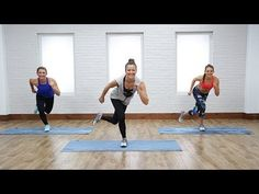 15 MIN FULL BODY & CARDIO: Intense Bodyweight Workout   Class FitSugar - YouTube