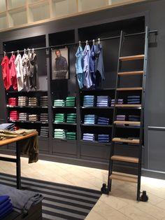 Dusseldorf retail - mannequins, retail fixtures, display tables, clothing racks, visual merchandising and in store displays.