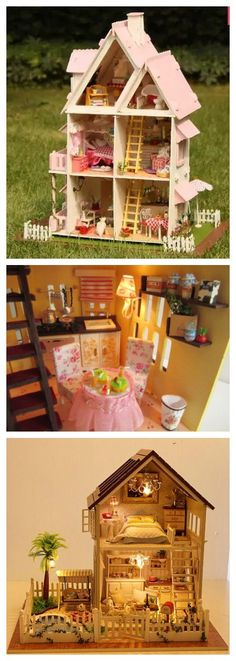What a pretty DIY dollhouse for your daughter! Best Christmas gift ideas for your kid. Get it in our Cyber Monday deal right now! Last call to our Lightning Deals you can enjoy! Exciting Deals of the Day, and savings on your wallet