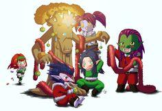 World of Warcraft's Christmas by GaMu-ChAn.deviantart.com on @deviantART