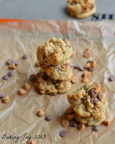 Soft peanut butter chocolate cookies