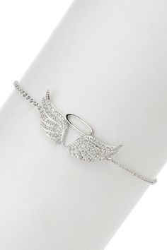 Any kind of jewelry or well anything with angel wings since my next tattoo will be wings on my back. But as he knows I only like wings that are going up like they are open and flying. I will only like them down/closed if they aren't side by side like ear rings and I HATE one wing. You don't see angels flying around with one wing so neither will I.