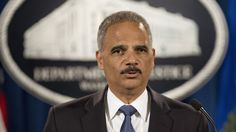 Attorney General Eric Holder speaks during a Sept. 4 news conference at the Justice Department in Washington  ( doubt is successor will be any better.  It is more likely that his successor will use the honeymoon period with congress to do more of the same IE)