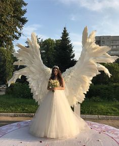 Giant angel wings - background at the wedding ceremony - Giant angel wings white – background at the wedding ceremony, party, outdoor wedding decoration, w - Wedding Ceremony Ideas, Outdoor Wedding Decorations, Wedding Stage, Wedding Venues, Wedding Photos, Party Outdoor, Wedding Ceremonies, Outdoor Weddings, Perfect Wedding