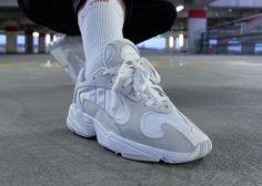 adidas Yung-1 White Grey On-Feet