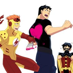 young justice valentines day tumblr