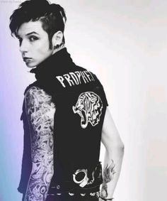 The Prophet, Andy Biersack from the Church of the Wild Ones #wretched #and #divine <3 <3 <3 <3