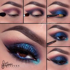 Get this vibrant look with #MotivesMaven @elymarino using all Motives! STEPS…