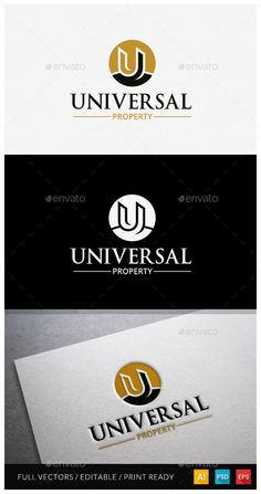 Universal Property  Letter U logo — Photoshop PSD #building #fidio • Available here → https://graphicriver.net/item/universal-property-letter-u-logo/11544680?ref=pxcr