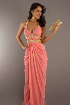 2012 Collection A Line Halter Floor Length Chiffon USD 131.34 PLGTM6LC - VoguePromDresses