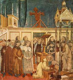 13. Institution of the Crib at Greccio.