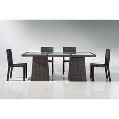 Jazz 7-piece Outdoor Dining Set | Overstock.com Shopping - Big Discounts on Jazz Dining Sets