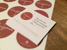 Stationery for the new collection, not long to go now!  (Though this may give away the theme)