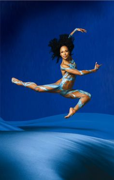 if I had my way I would be black and dance with Alvin Ailey :)