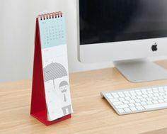 2014 Calendar Desk Planner de Nothing Elegant sur DaWanda.com