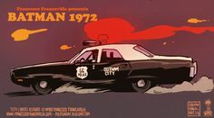 Batman 1972 by Francesco Francavilla *
