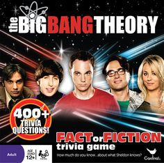 Even though I have only been watching this for a few weeks I'm almost on Season 4. I know after finishing all the Seasons I would so do well at this game, since have a great memory for things I REALLY like (especially if it becomes an obsession) Looks like SOOO much fun!  The Big Bang Theory Trivia Game