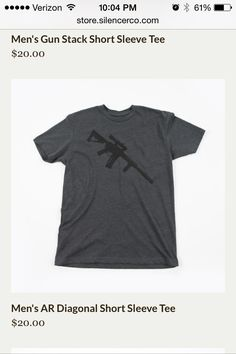 46b3339859e New SilencerCo T-shirt  Noveske SBR with Silencerco Saker.