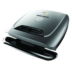 George Foreman George Forman Classic Plate Grill for 8 Servings, Silver