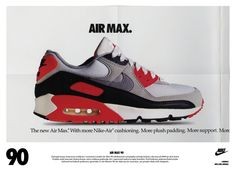 on sale ffa57 0c842 The Are Back with the Nike Air Max 90 vintage ad