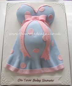 Baby Bump Cake - Cake by Favoured Cakes - CakesDecor