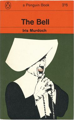 """""""The Bell"""" Iris Murdoch. the second of the dame's books i read. Book Cover Art, Book Cover Design, Book Design, Book Art, I Love Books, Good Books, Iris Murdoch, Penguin Publishing, Vintage Penguin"""