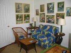 Betsy Speert's Blog: Tropical Paint-By-Numbers