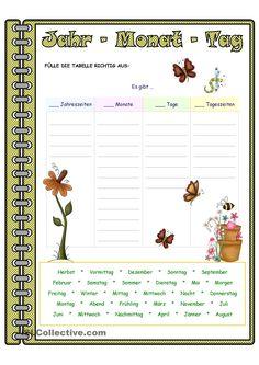 Jahr - Monat - Tag _ Zuordnung - con recortables