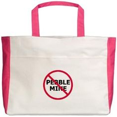 No Pebble Mine: Beach Tote #NoPebbleMine #LittleBearProd