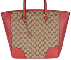 d2463f3592bfa9 Gucci Women's 449242 Large Bree GG Guccissima Purse Handb... https://