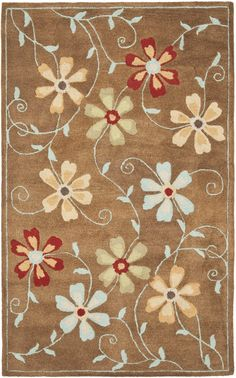Hutsonville Camel / Multi Contemporary Rug