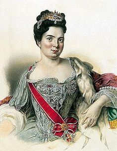 Katherin First - Peter First wife, Real name - Martha Skavronska, was in power after husband