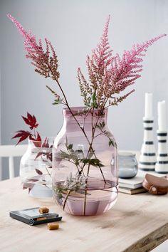 Omaggio-vaser i glass fra Kähler.