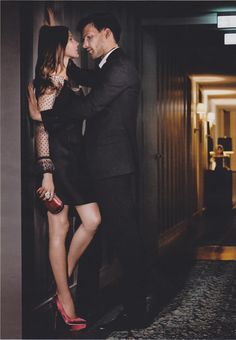 Steamy Engagement pose idea from s|a: Olivia Palermo & Johannes Huebl for Elle Germany December 2010