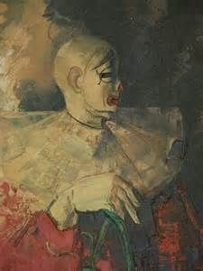 harlequin clown paintings - Bing images