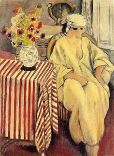Henri Matisse | Meditation after the bath, 1920